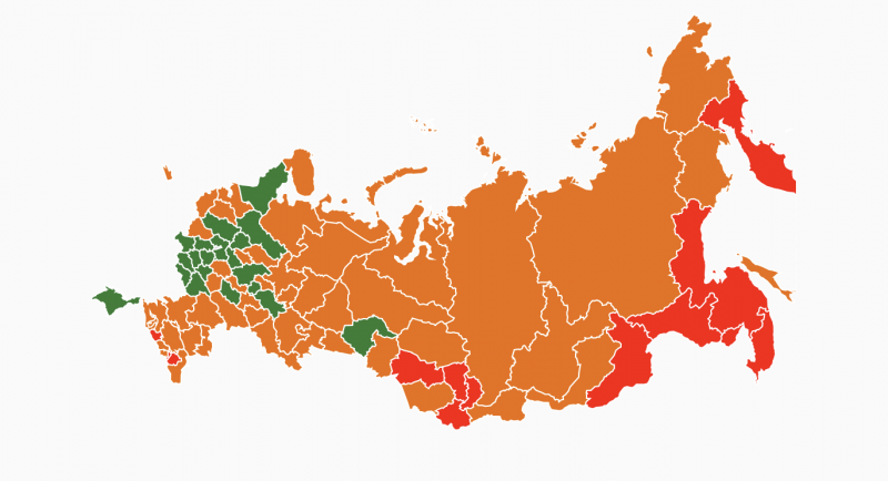 LBC Compiled a Rating of Russian Regions Lighting